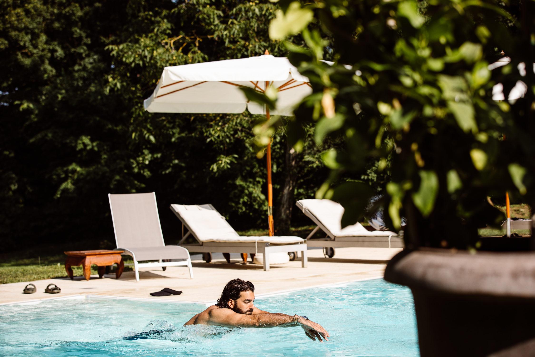 piscina, tuffo, Modena